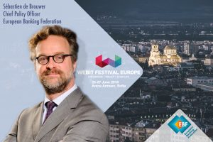 Sebastien de Brouwer at WEBIT.FESTIVAL Europe | 25-27 June 2018, Sofia, Bulgaria