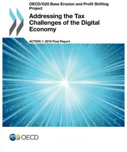 Addressing the Tax Challenges of the Digital Economy, Action 1 - 2015 Final Report