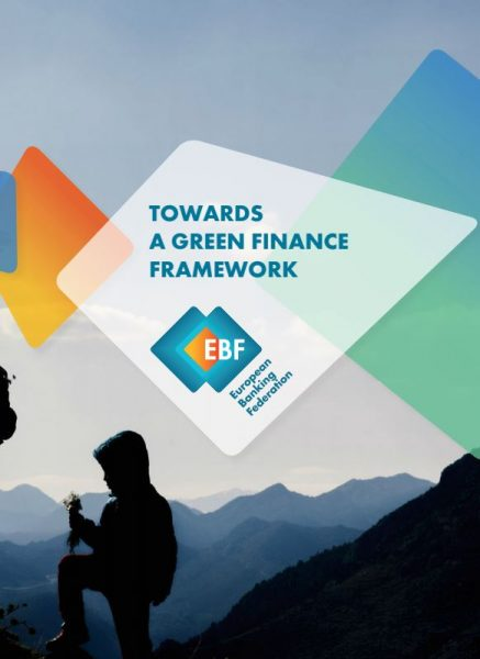 Towards a green finance framework - EBF Report