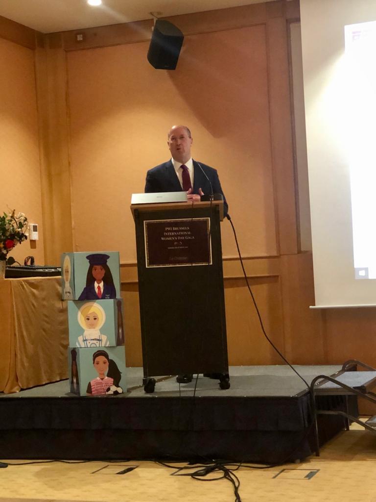 EBF CEO Wim MIjs - Internation Womens Day
